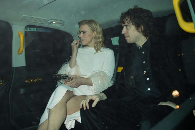 Billie Piper 2018 : Billie Piper: Leaving British Vogue Fashion and Film Party 2018 -11