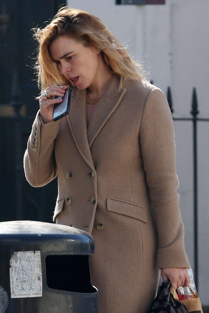Billie Piper - Out and about in London