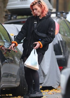 Billie Piper out in London