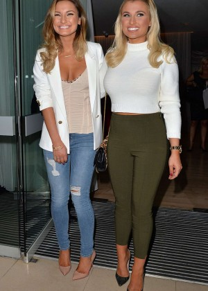 Billie & Sam Faiers - Lashes Launch in London