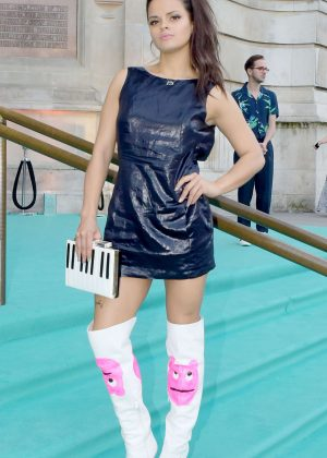 Bip Ling - Arriving at the Victoria and Albert Museum Summer Party in London