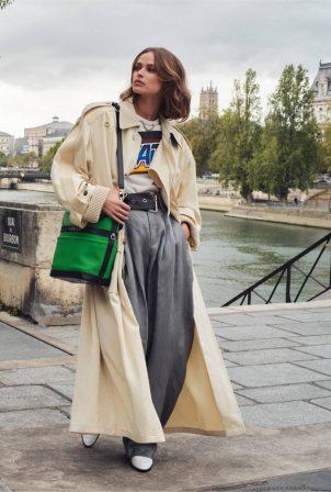 Birgit Kos - Elle Magazine - February 2021