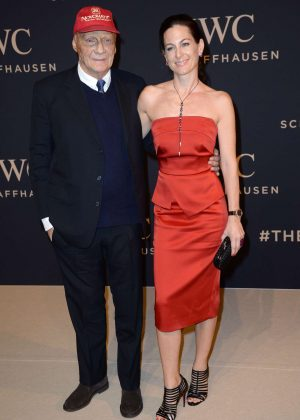 Birgit Wetzinger - IWC Gala Decoding the Beauty of Time at SIHH 2017 in Geneva