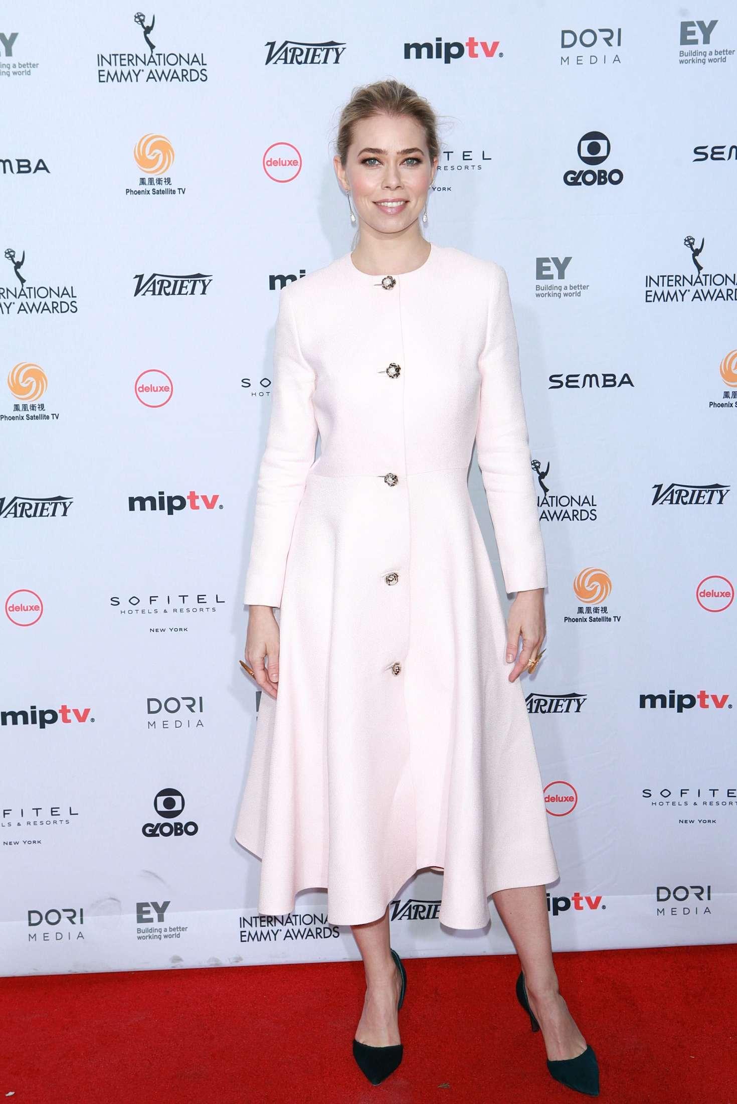 Birgitte Hjort Sorensen 2016 : Birgitte Hjort Sorensen: 44th International Emmy Awards -02