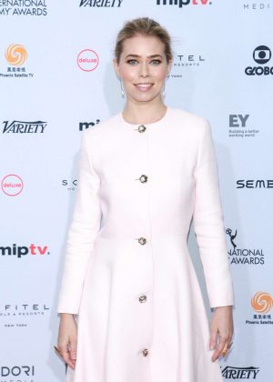 Birgitte Hjort Sorensen - 44th International Emmy Awards in New York