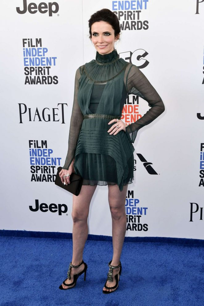 Bitsie Tulloch - 32nd Film Independent Spirit Awards in Santa Monica