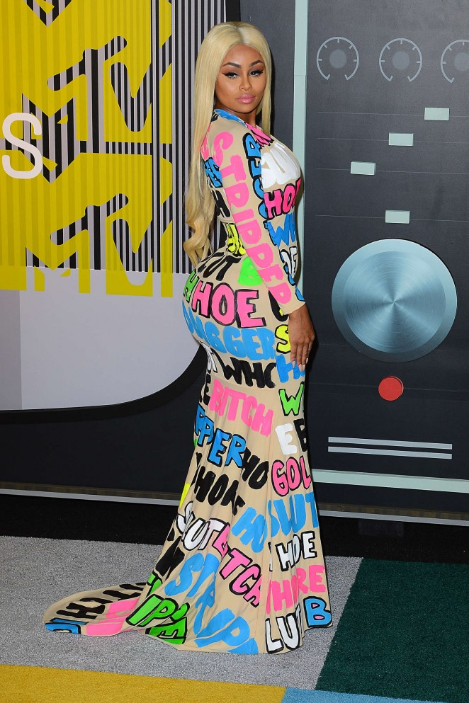 Blac Chyna – 2015 MTV Video Music Awards in Los Angeles