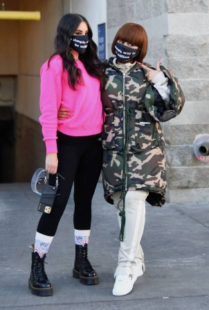 Blac Chyna and Bella Baskin - Seen out in New York