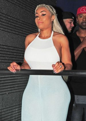 Blac Chyna at Her Birthday Party in Miami