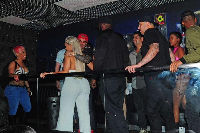 Blac Chyna at Her Birthday Party -22