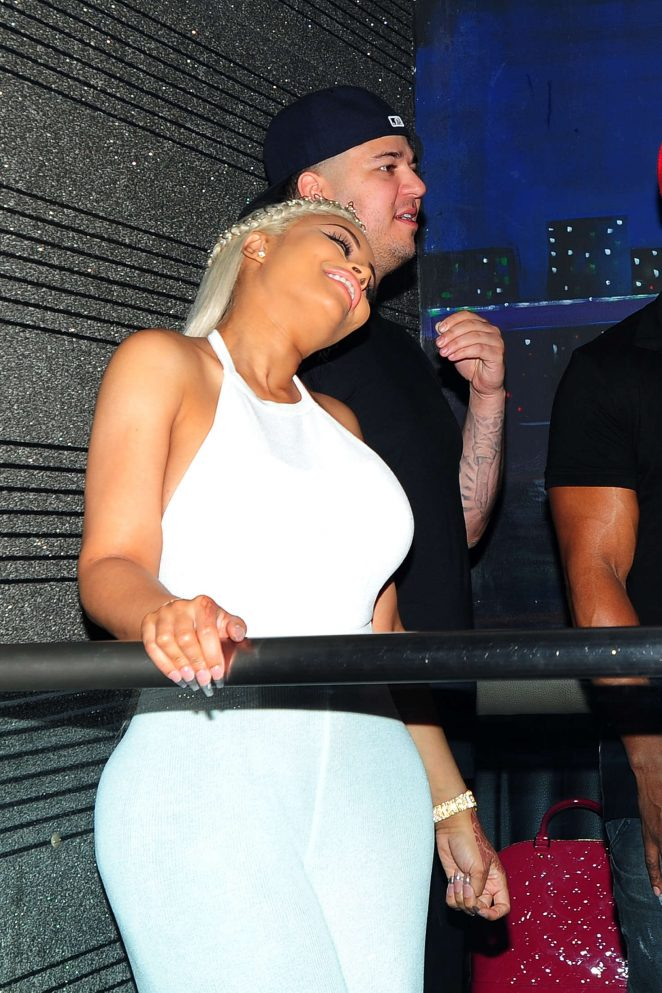Blac Chyna at Her Birthday Party -28
