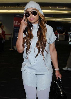 Blac Chyna - Heads to ATL for a Club Appearance in LA