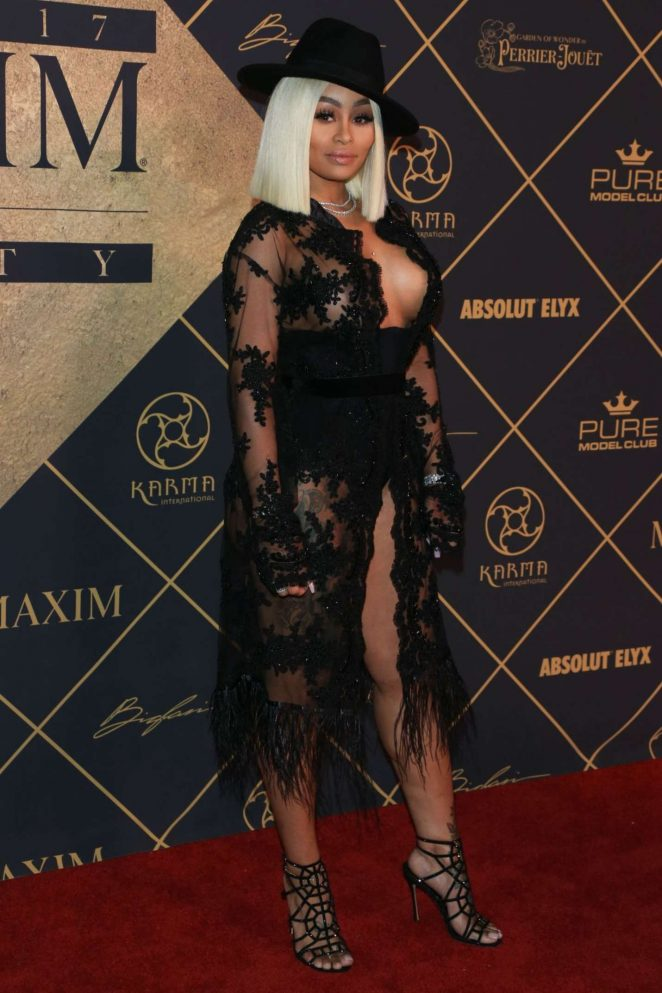 Blac Chyna – Maxim Hot 100 event in Hollywood