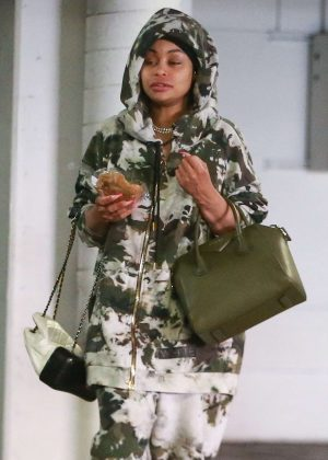 Blac Chyna - Visiting law offices in Hollywood