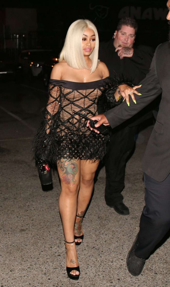 Black Chyna - Leaving Tao in Los Angeles