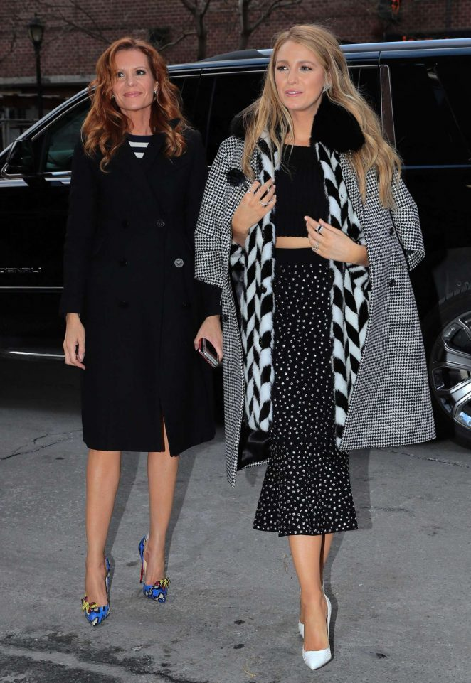 Blake and Robyn Lively out in New York City