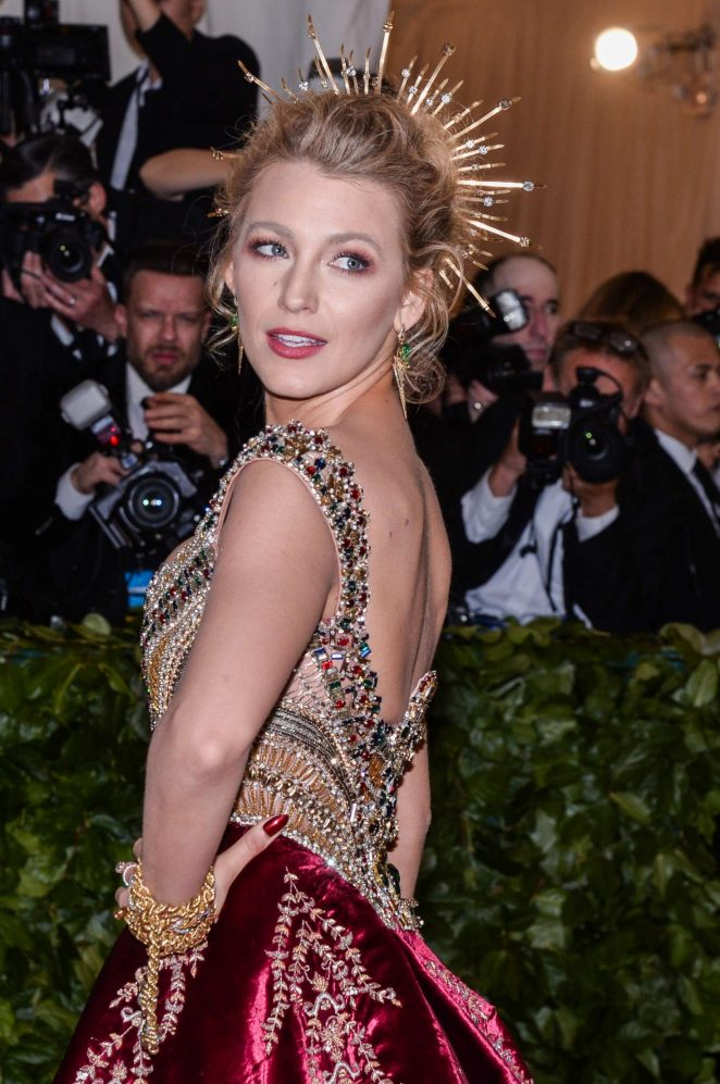 Blake Lively - 2018 MET Gala in NYC