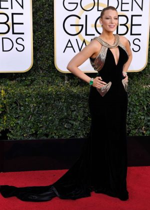 Blake Lively - 74th Annual Golden Globe Awards in Beverly Hills