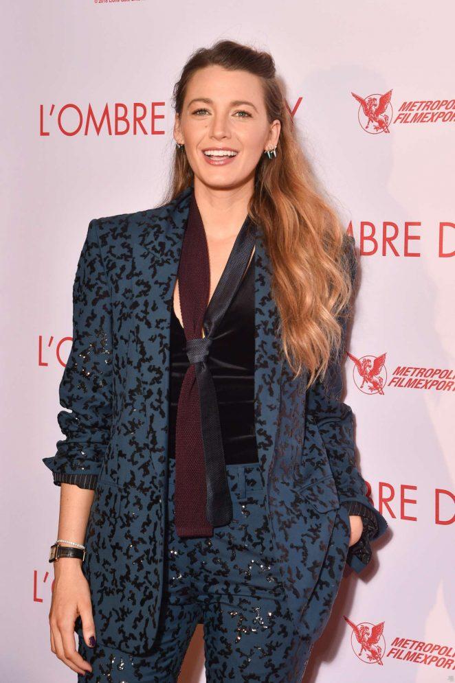 Blake Lively - 'A Simple Favor' Premiere in Paris