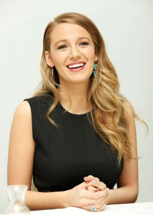 Blake Lively - 'Age Of Adaline' Press Conference in Beverly Hills