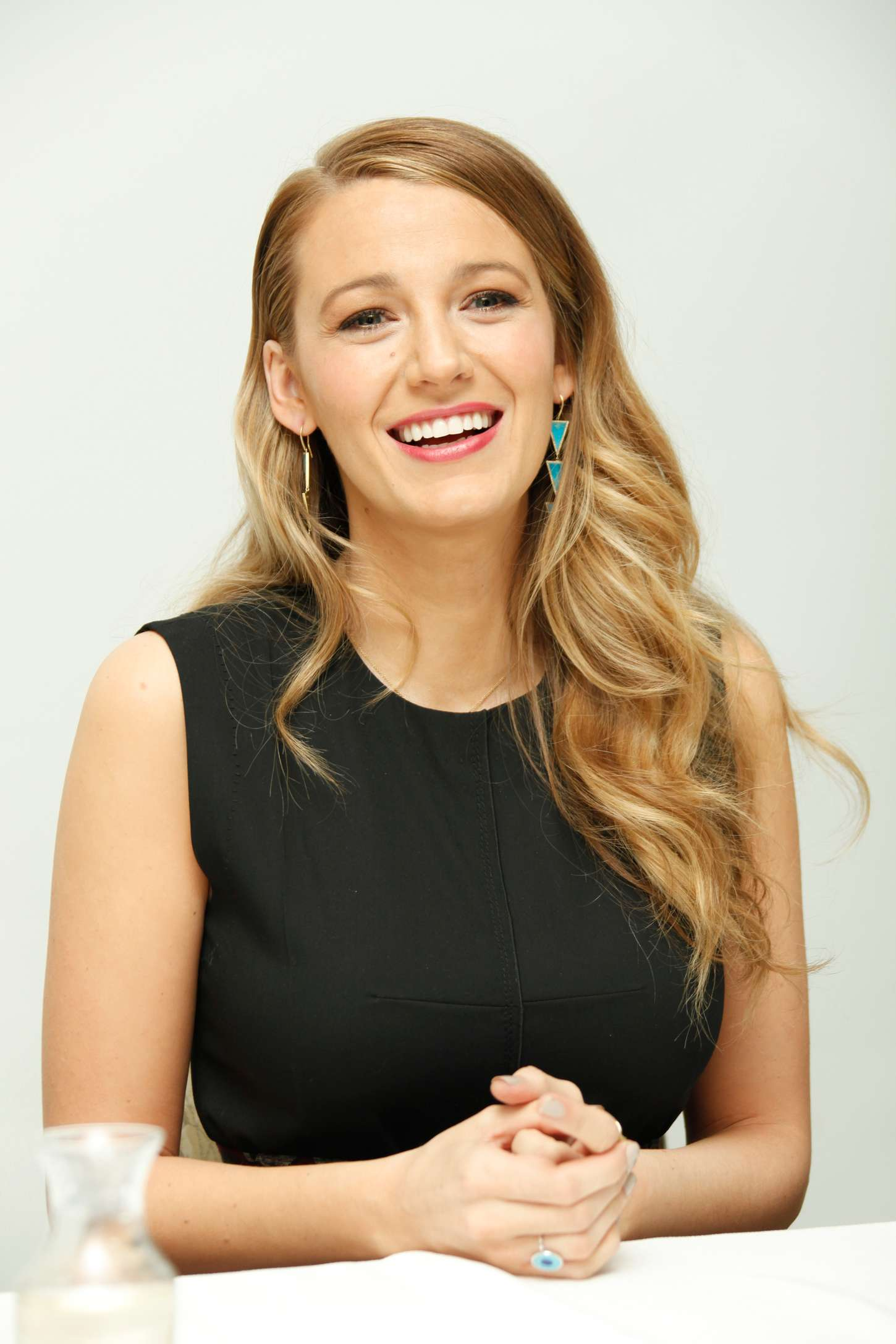 Blake Lively – 'Age Of Adaline' Press Conference at the ...