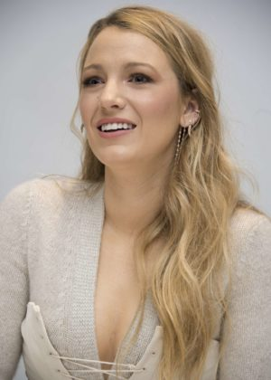 Blake Lively - 'All I See Is You' Press Conference in West Hollywood