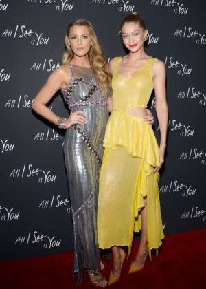 Blake Lively and Gigi Hadid - 'All I See Is You' Screening in New York