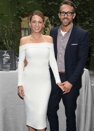 Blake Lively and Ryan Reynolds - Celebrate his first Employee Orientation in NY