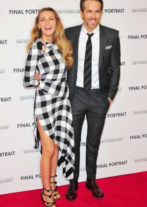 Blake Lively and Ryan Reynolds - 'Final Portrait' Screening in New York City