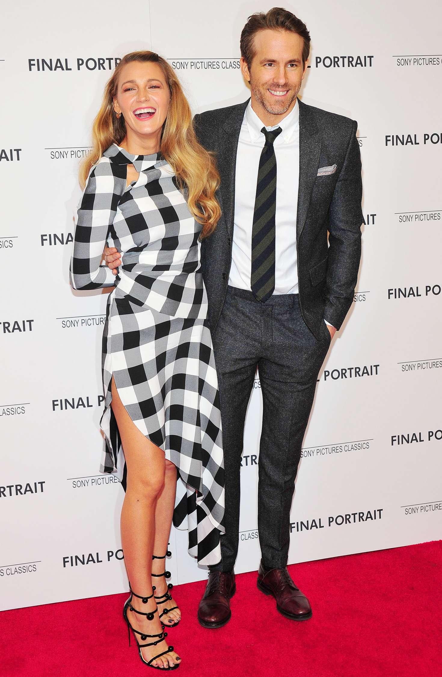 Blake Lively and Ryan Reynolds - 'Final Portrait' Screening in New York City
