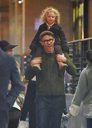 Blake Lively And Ryan Reynolds Out And About In New York City Gotceleb