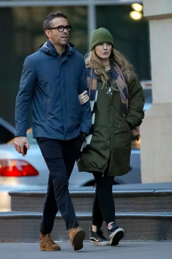 Blake Lively and Ryan Reynolds - Out in New York City