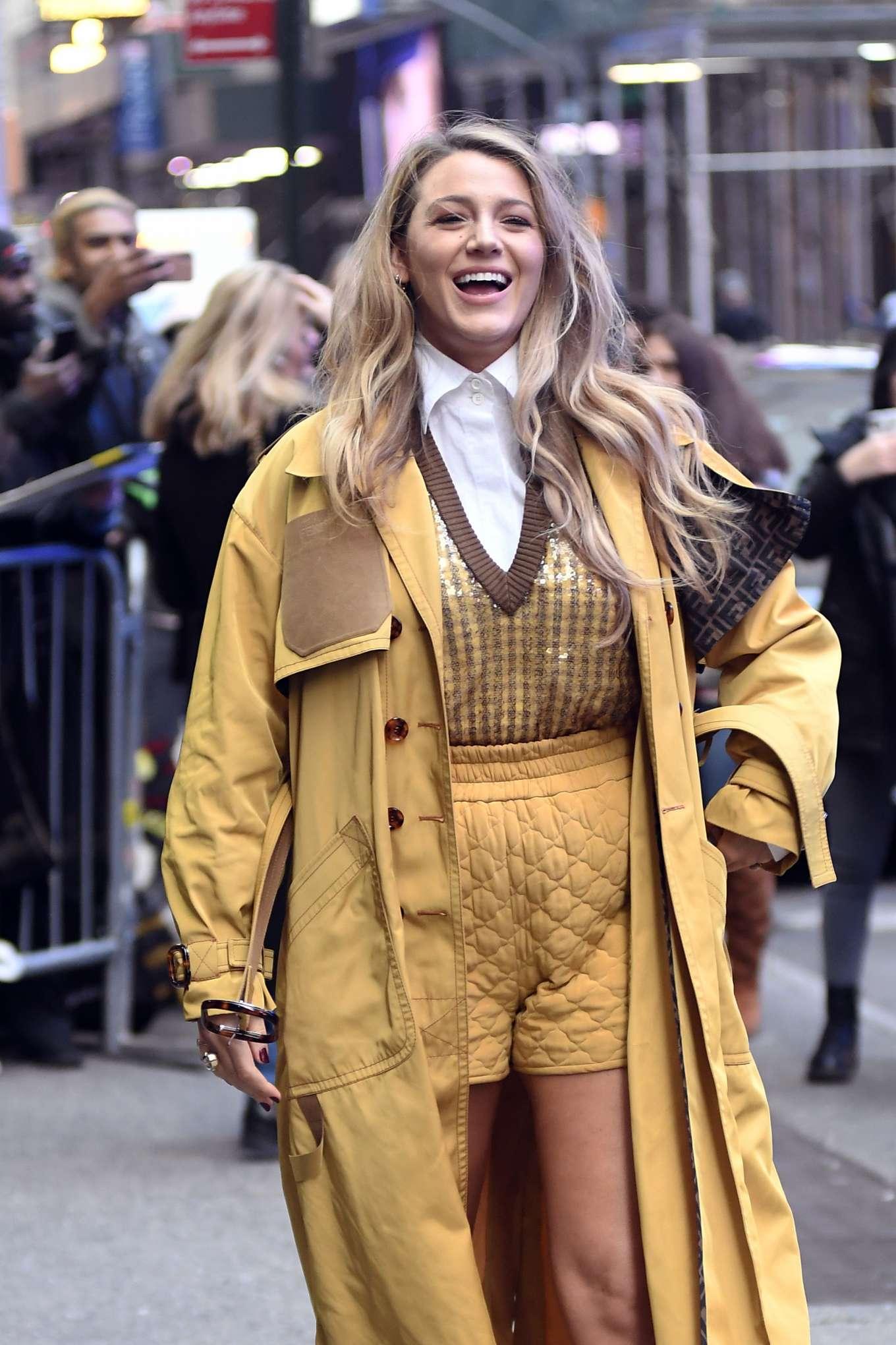 Blake Lively - Arrives at Good Morning America in New York City