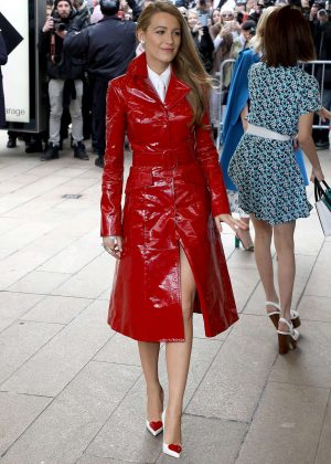 Blake Lively - Arrives at the Michael Kors Show in NYC