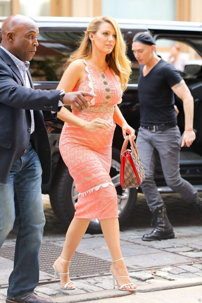 Blake Lively: Arriving at Cafe Society -05