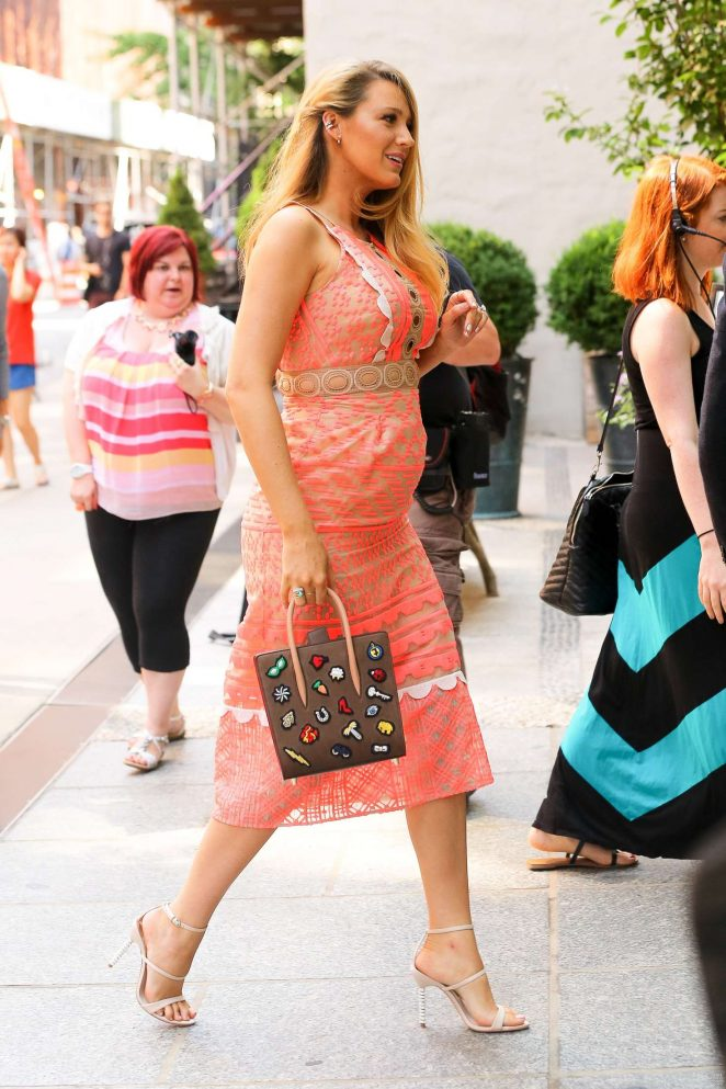 Blake Lively: Arriving at Cafe Society -07