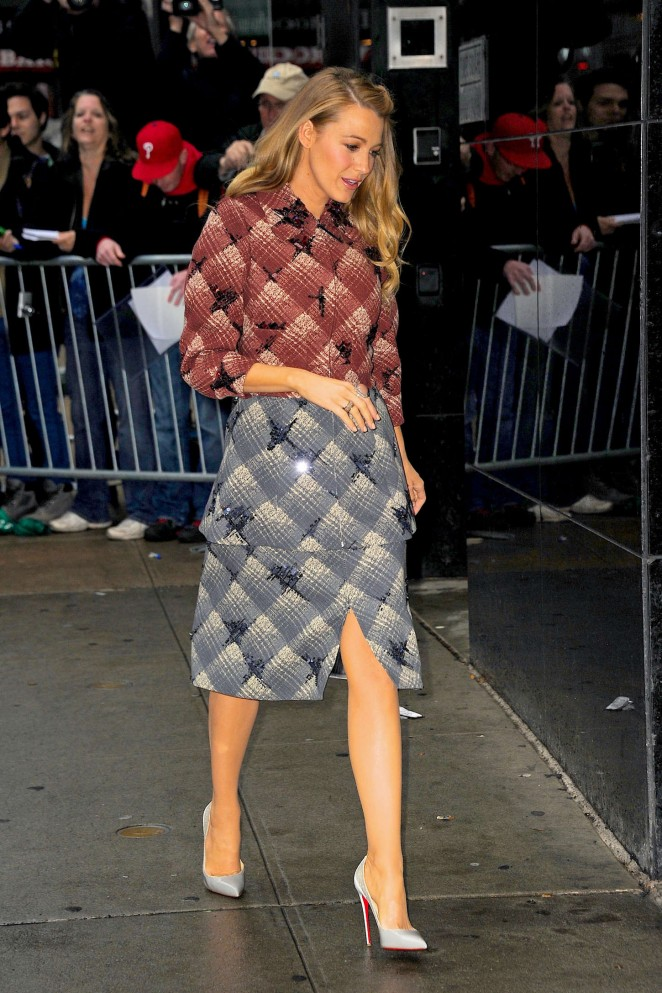 Blake Lively – Arriving at 'Good Morning America' in NYC