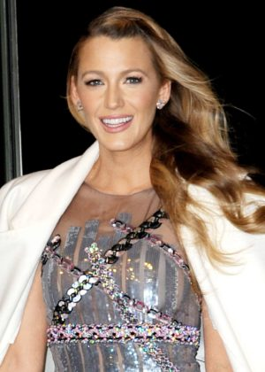 Blake Lively - Attends 'All I See Is You' Screening in NYC