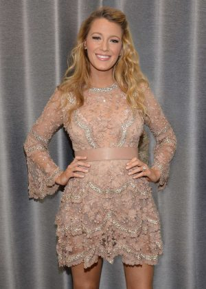 Blake Lively - Backstage at The Today Show in New York City
