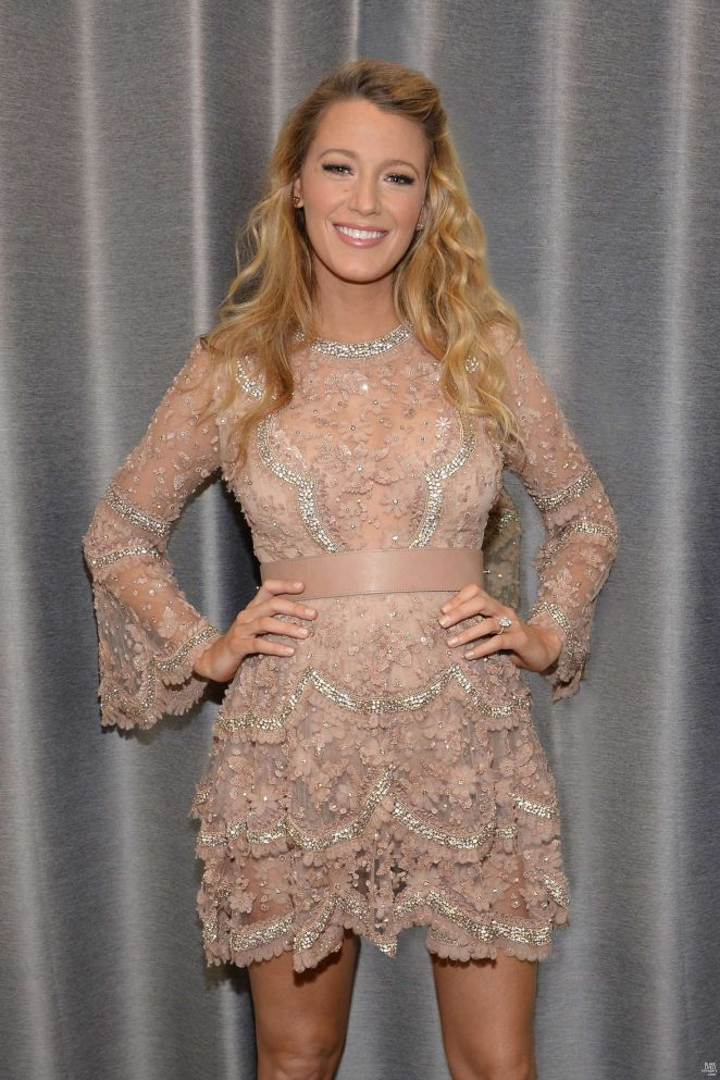 Blake Lively – Backstage at The Today Show in New York City