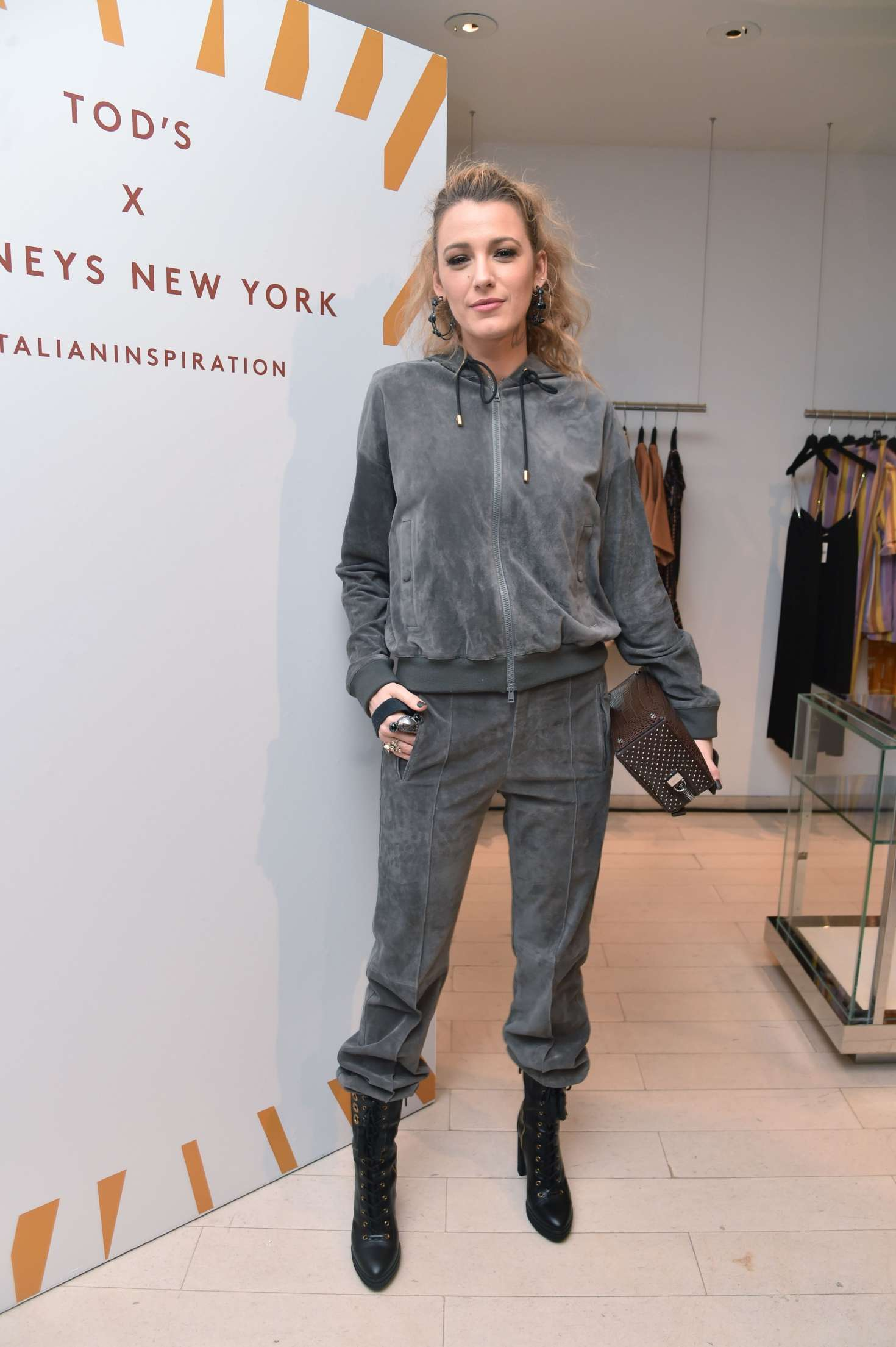 Blake Lively - Barneys New York Celebrates the launch of Tod's Capsule Collection in NYC