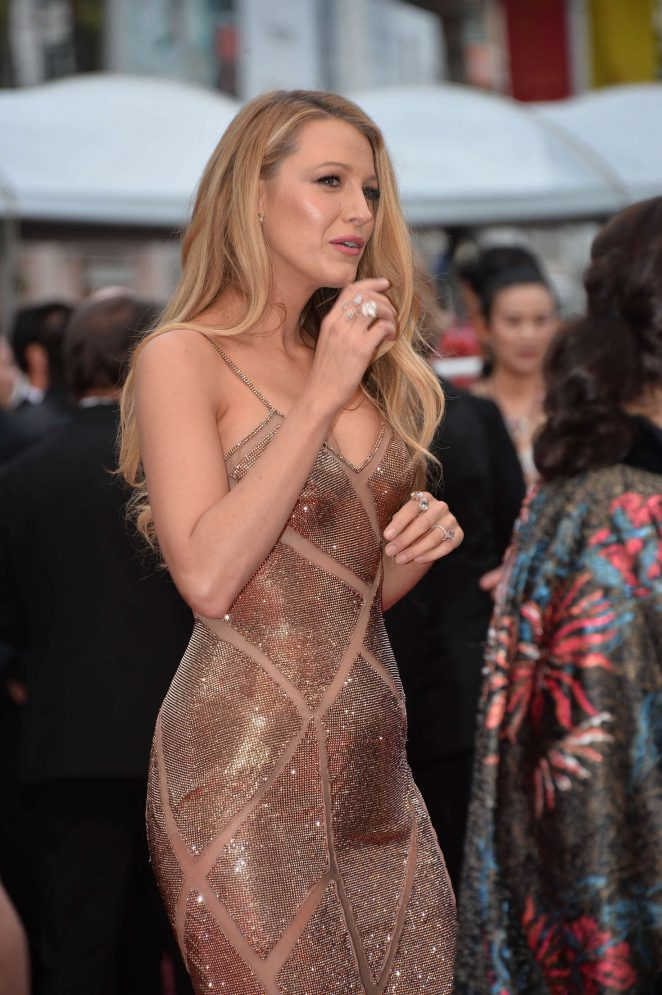 Blake Lively: Cafe Society Premiere -04
