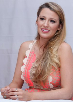 Blake Lively - 'Cafe Society' Press Conference in New York City