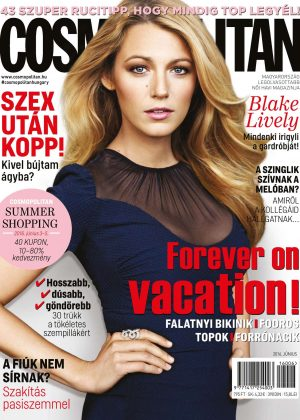 Blake Lively - Cosmopolitan Hungary Magazine (June 2016)
