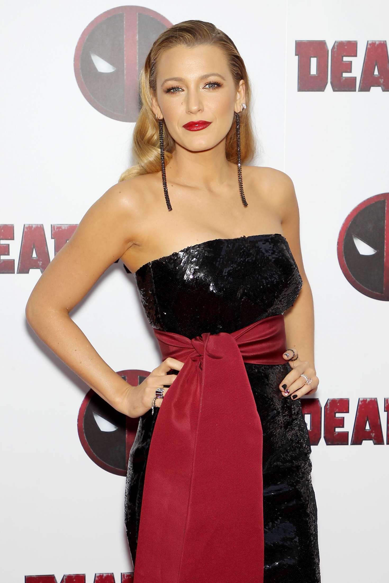 Blake Lively - 'Deadpool 2' Premiere in New York City
