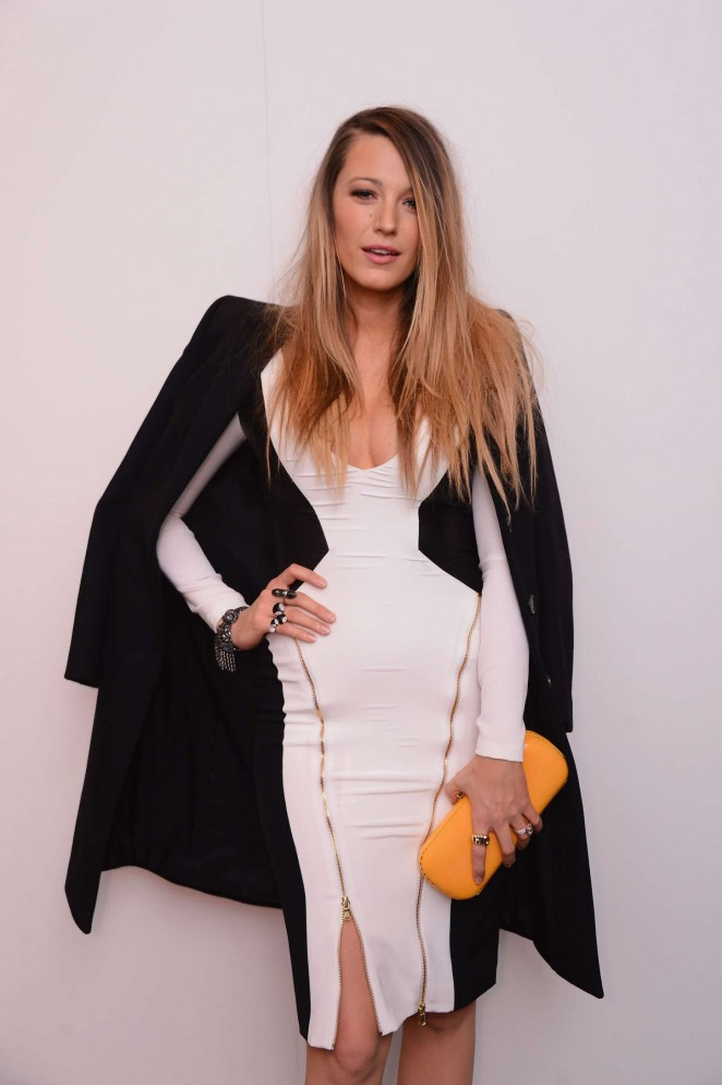 Blake Lively – Gabriela Cadena Fall/Winter 2015 Fashion Show in NY