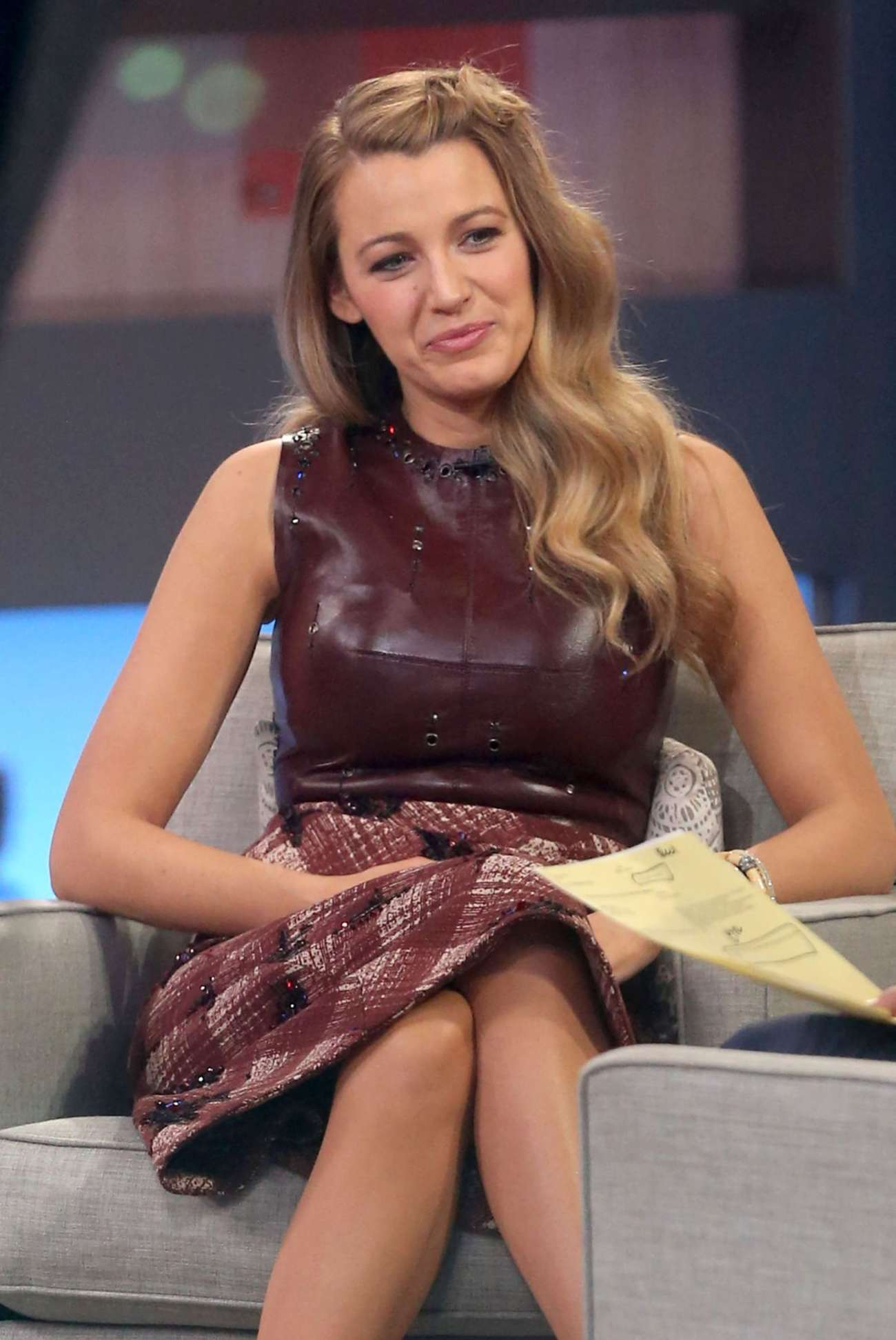Good Morning America Nyc : Blake lively good morning america in nyc