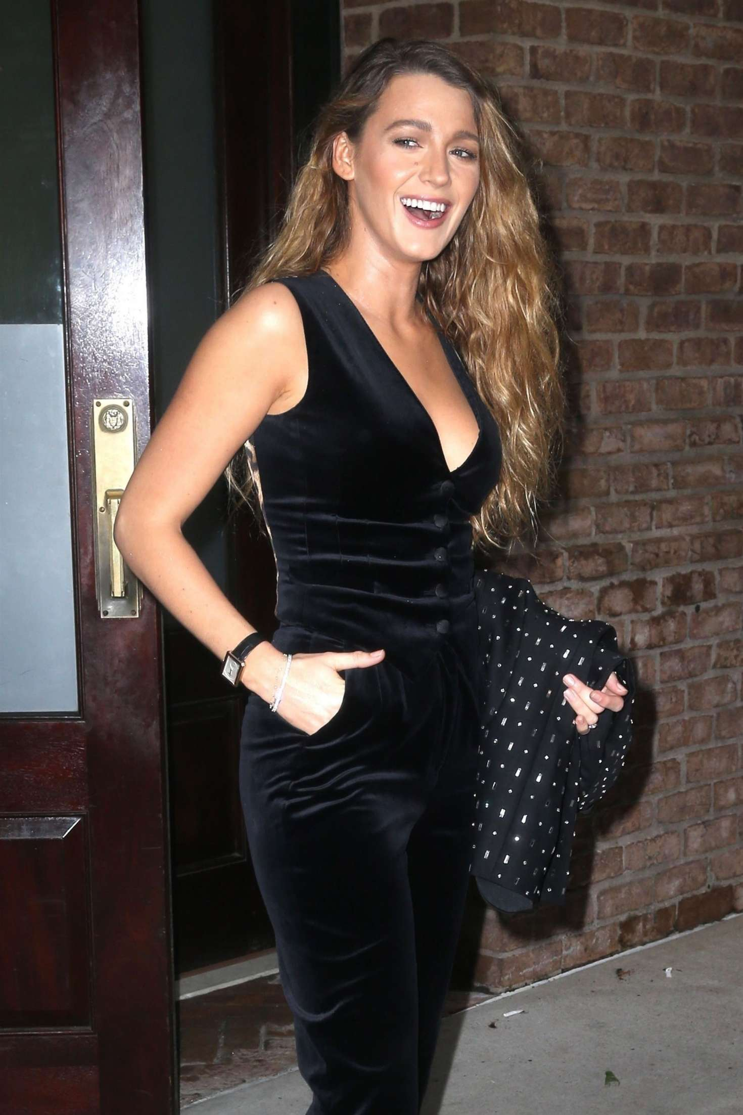 Blake Lively - Headed to 'The Tonight Show Starring Jimmy Fallon' in NY