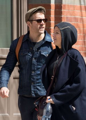 Blake Lively, Jake Gyllenhaal and Ryan Reynolds out in NYC