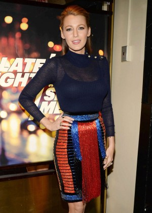Blake Lively - 'Late Night with Seth Meyers' in NYC
